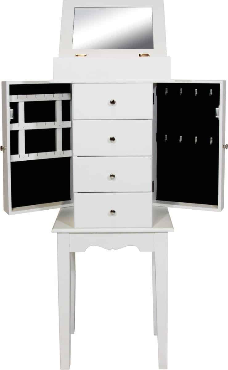 Schmuckschrank bhp Möbel Kommode B421818 Spiegelschatulle