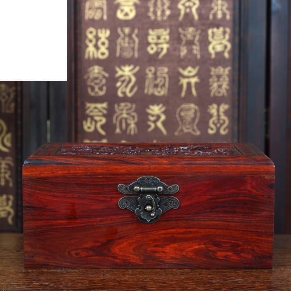 aufbewahrungsbox red queen schmuck schmuckk stchen mahagoni sammelkiste vintage antik holz. Black Bedroom Furniture Sets. Home Design Ideas
